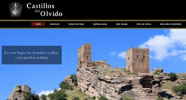 Captura de pantalla general de la web