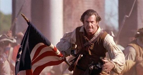 """Mel Gibson en la película """"El patriota"""""""
