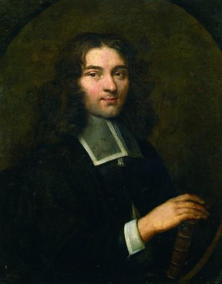 Retrato de Pierre Bayle, representante de la República de las Letras, por Louis Ferdinand Elle (1675)