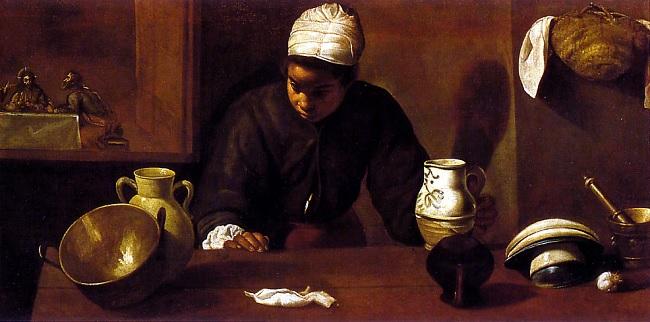 La mulata, de Diego de Velázquez (siglo XVII). Eleno de Céspedes había sido hija de una esclava