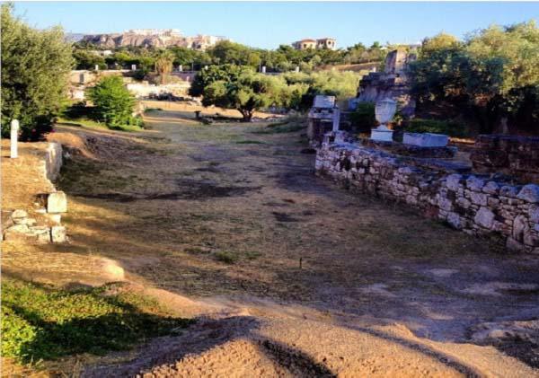 Necrópolis del Cerámico en Atenas