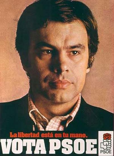 El PSOE en la Transición se ve en este cartel electoral para las elecciones de 1977