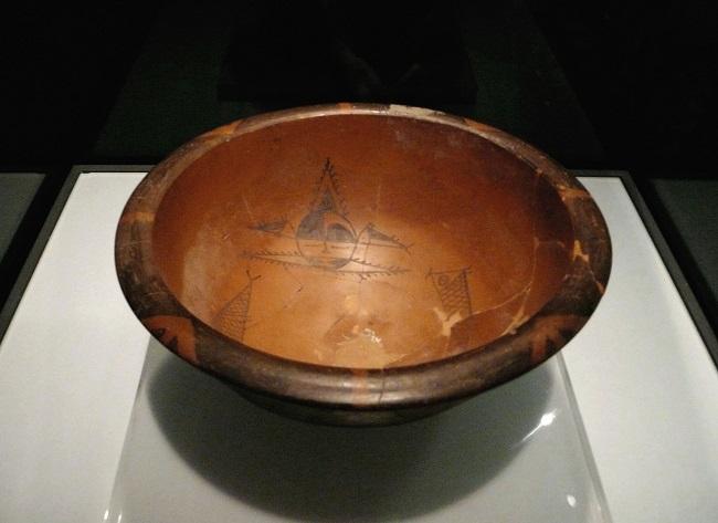 Pieza cerámica hallada en Banpo de la cultura Yangshao
