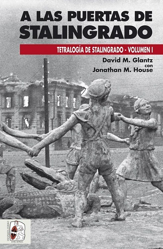 """Portada del libro """"A las puertas de Stalingrado"""""""