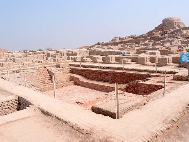 Ruinas de la ciudad de Mohenjo Daro