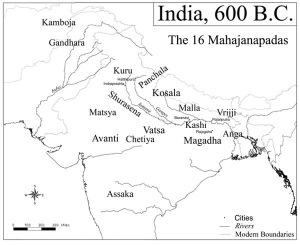 La India a finales del período védico