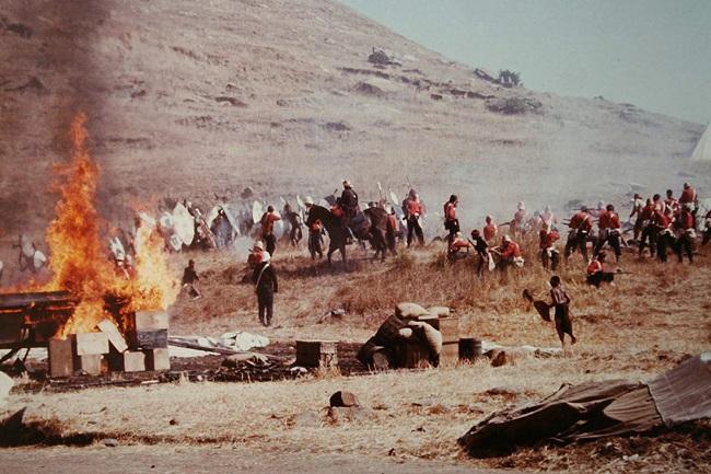 Otra escena de Amanecer Zulú