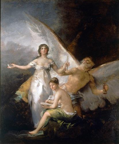 """""""La Verdad, el Tiempo y la Historia"""", de Francisco de Goya"""