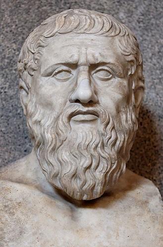 Busto romano de Platón