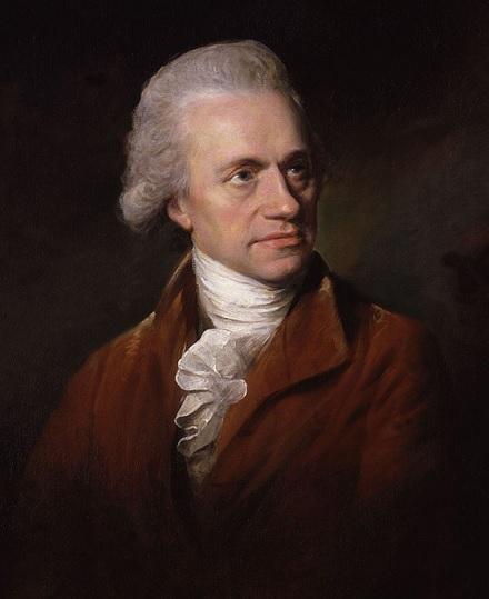 Retrato de William Herschel a finales del siglo XIX por Lemuel Francis Abbott