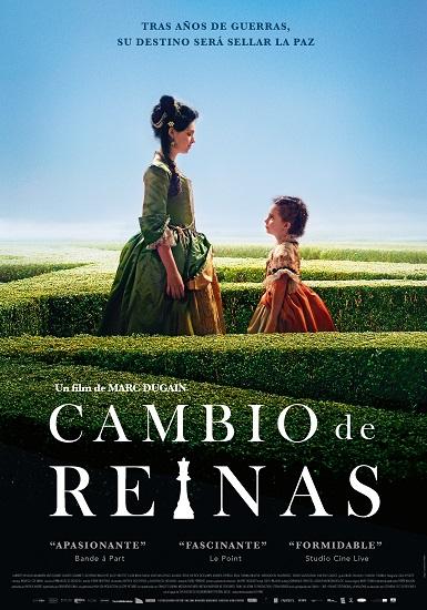 Cartel promocional de la película Cambio de Reinas