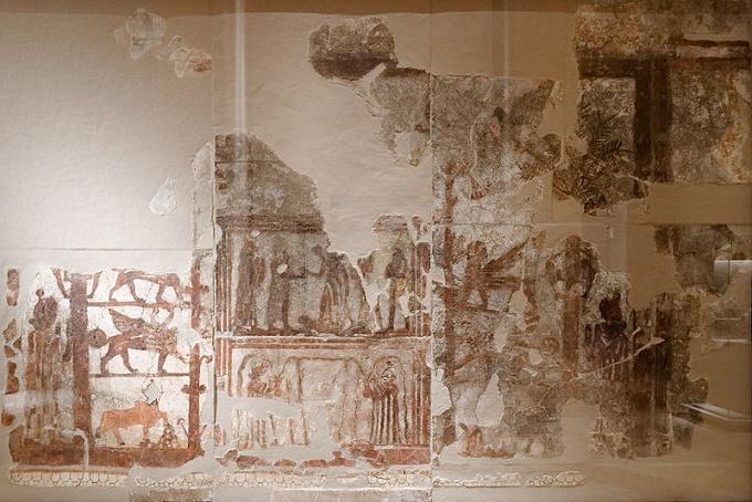 Mural del palacio de Zimri Lim