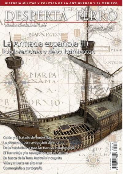 Portada de La Armada española (II) la era de los descubrimientos