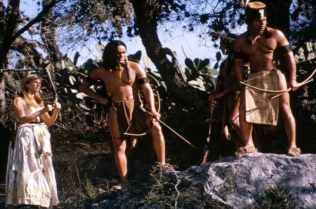 Indios representados en Soldado Azul