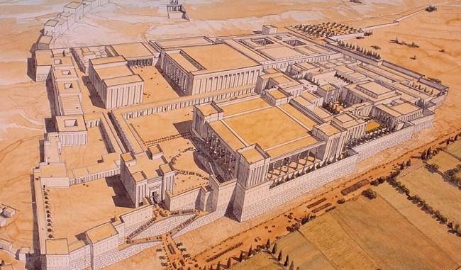 Reconstrucción digital fiel de los palacios de Persépolis