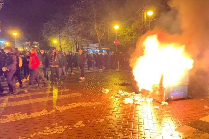 E enjta e dhunshme në Tiranë!