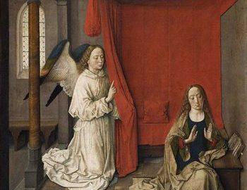 Bil Viola, Dirk Bouts, Anunciation