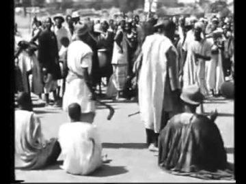 Jean Rouch, La mort du Mogho Naaba Sagha II roi Mossi a 1957