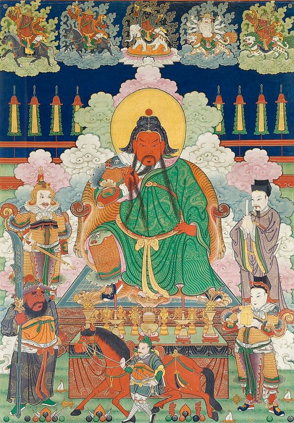 ¿Dónde está la tumba de Guan Yu?
