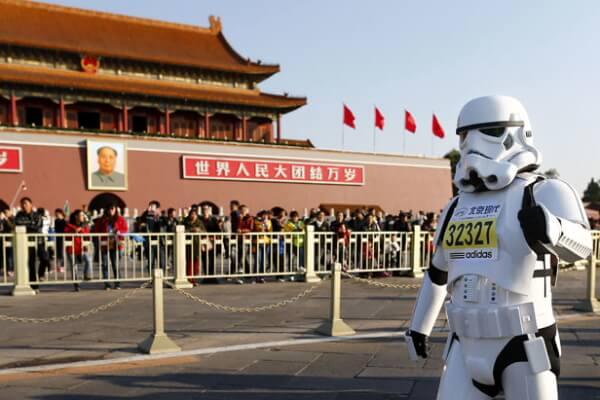 Si China fuese la muy, muy lejana galaxia de Star Wars