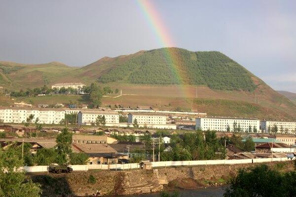 Las montañas Changbai, un balcón a la hermética Corea del Norte