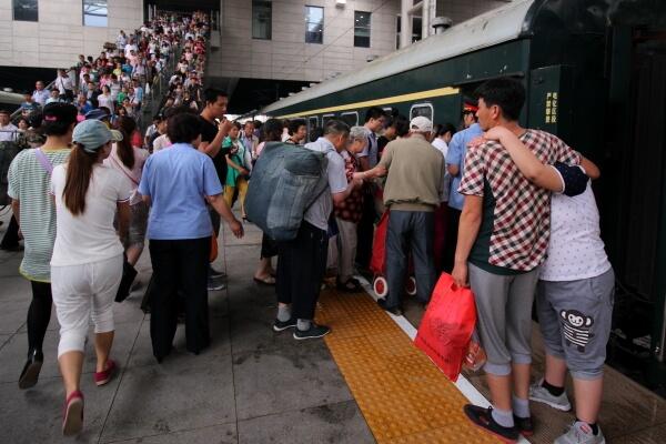 Recorriendo China en tren: el vagón-litera