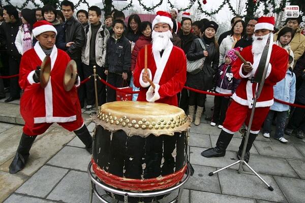 ¿Navidades en China?
