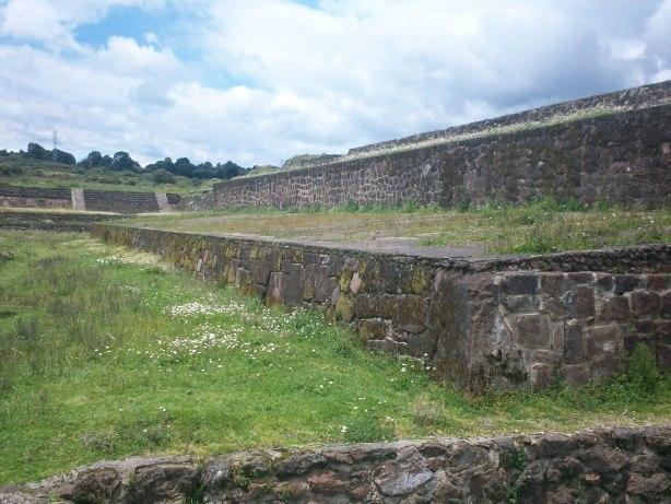 Juego de Pelota en la zona Arqueológica de Teotenango