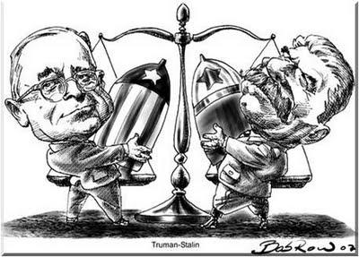 Caricatura de la guerra fria