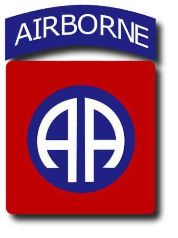 Insignia de hombro de la 82 división aerotransportada