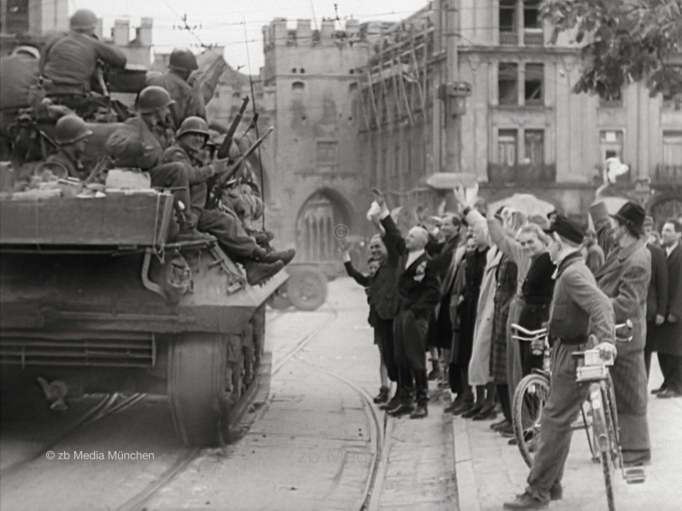 München: Einmarsch US-Armee 30.04.1945