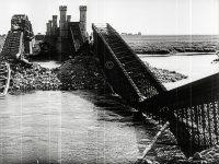 Kriegsbeginn 1939 - zerstörte Weichselbrücke