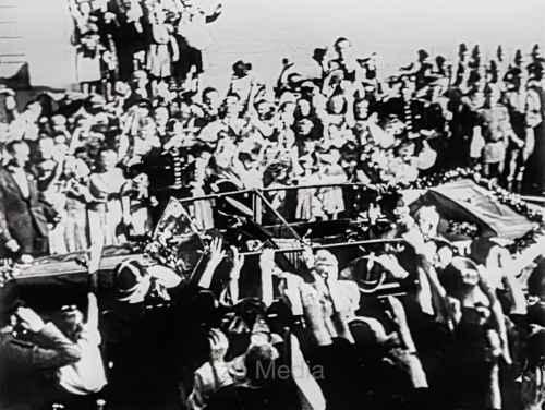 Ankunft von Benesch, Prag Mai 1945