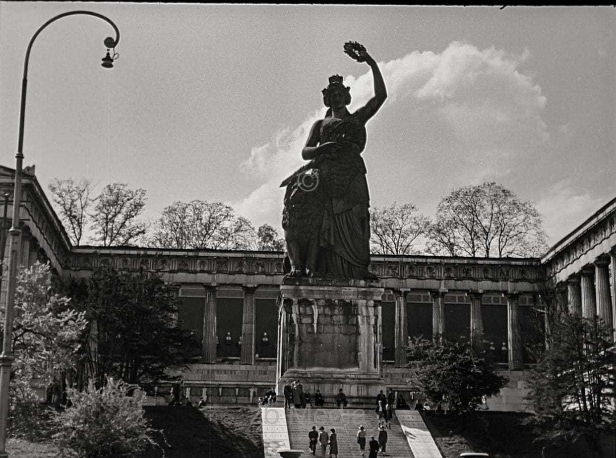 Theresienwiese München, Mai 1946