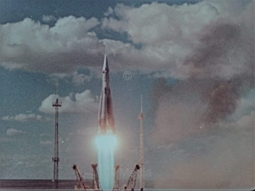 R7 Rakete startet