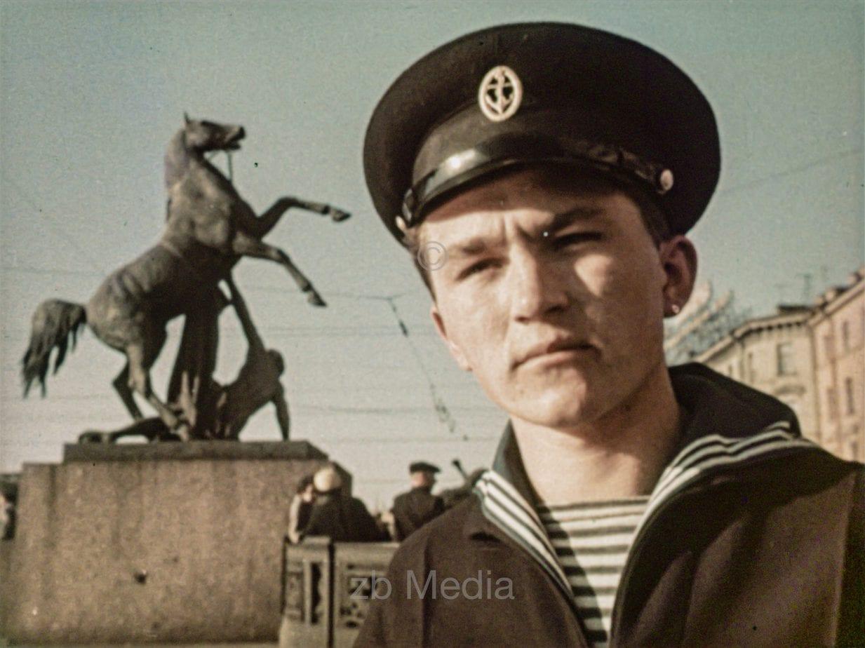 Passanten Moskau 1961