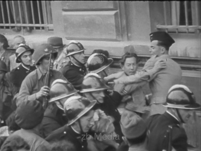 Verhaftung, Straßenkämpfe in Paris 19.8.1944