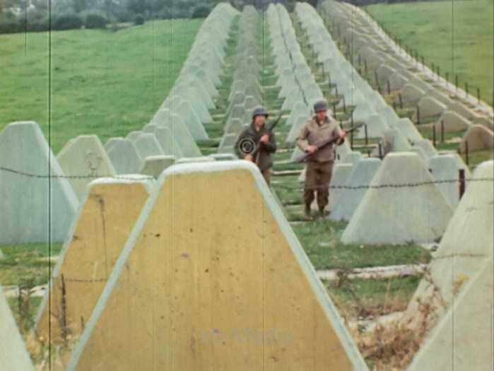 US Soldaten am Westwall 1944