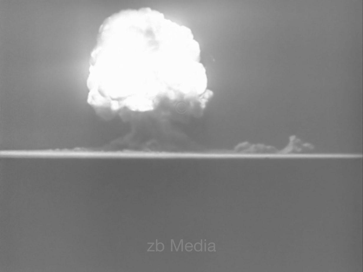 Atombombenexplosion 1945