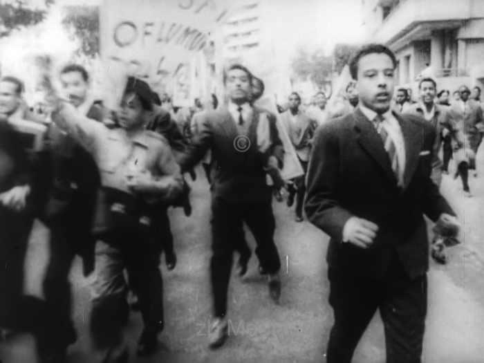 Protest in Kairo zu Tod von Lumumba