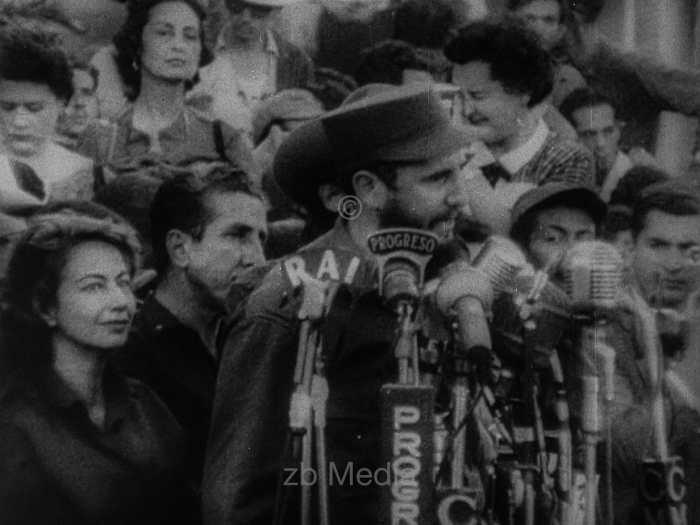 Fidel Castro Kundgebung Havanna 1962