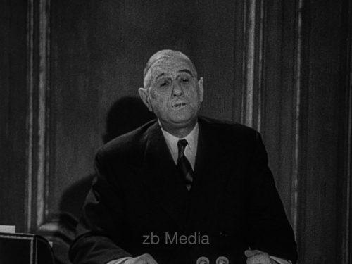 Charles de Gaulle spricht