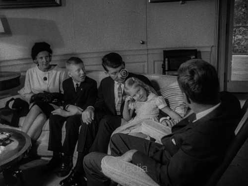 John F. Kennedy mit Famile Walter Schirra