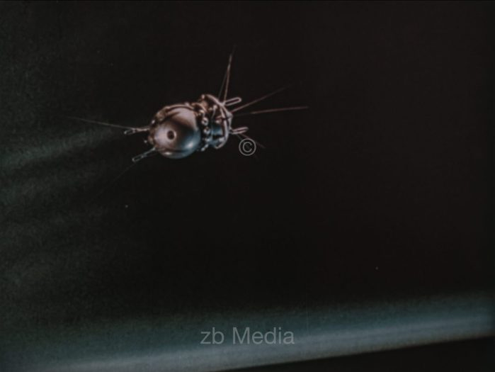 Animation Raumschiff Vostok 6