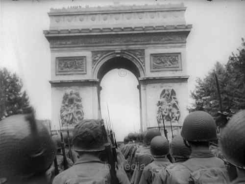 Befreiung von Paris 19.8.1944