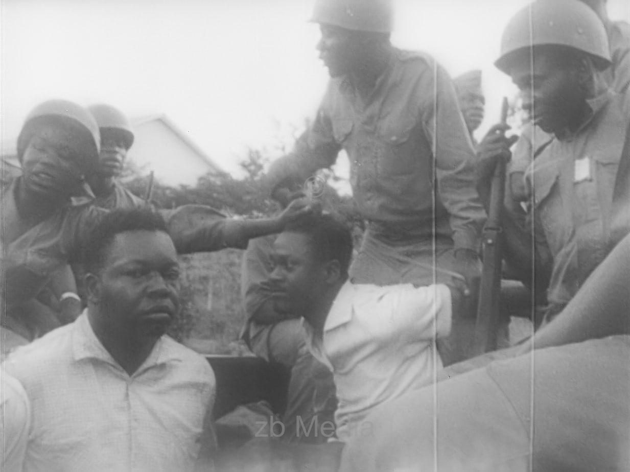 Festnahme von Patrice Lumumba, Kongo 1960