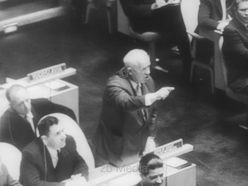 Nikita Chruschtschow, UNO Vollversammlung 1960