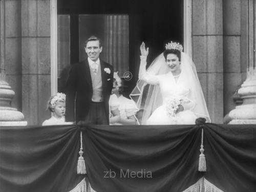 Hochzeit von Prinzessin Margaret 1960