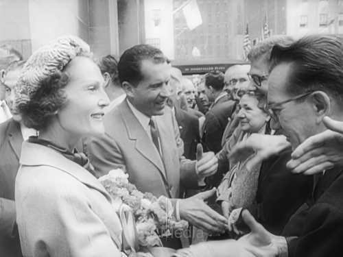 Richard Nixon und Patricia Nixon, Präsidentschaftswahl 1960