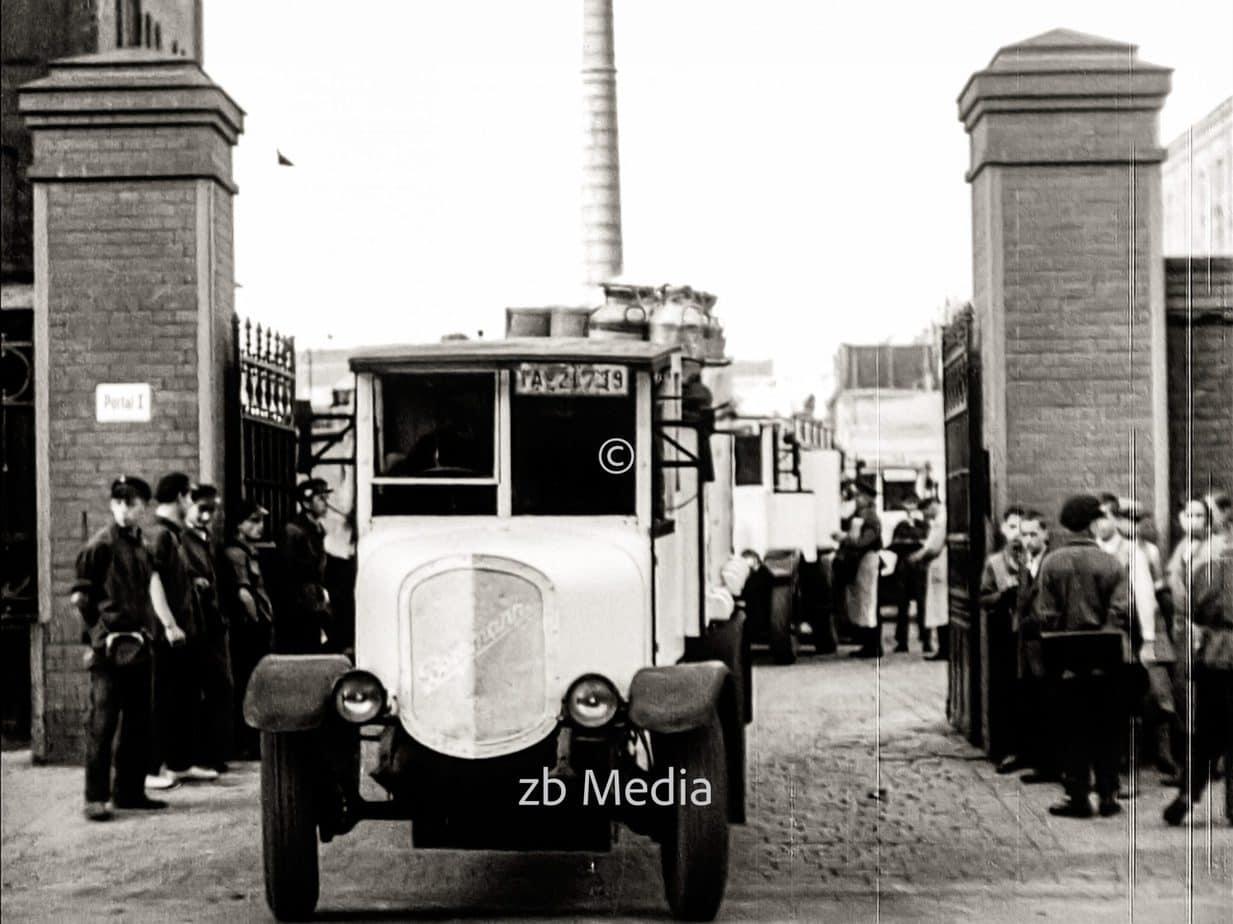 Molkerei Bolle in Berlin 1930